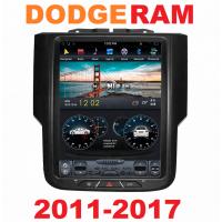 Андроид магнитола в стиле Тесла для Dodge RAM