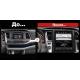 Андроид магнитола в стиле Тесла для Toyota Highlander 2015-2017