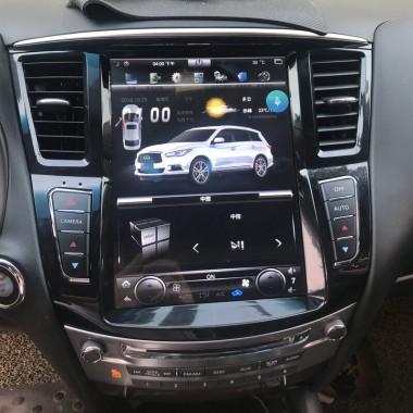 Андроид магнитола в стиле Тесла для Infiniti QX60