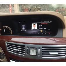 Штатная магнитола на Андроид для Mercedes W221