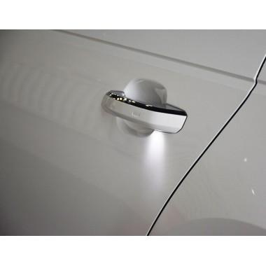 Внешние ручки дверей с подсветкой для Ауди A4 B9