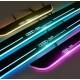 Накладки на пороги с LED подсветкой для Ауди