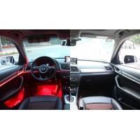Атмосферная LED подсветка для салона автомобиля