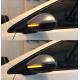 Бегающие LED поворотники в боковые зеркала для Фольксваген Jetta 5, Passat B6, B7, CC, Touran