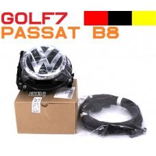 Штатная камера заднего вида в значке для Volkswagen Golf 7 (ОРИГИНАЛ)