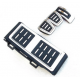 Накладки на педали для Шкода Octavia A7