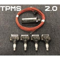 Штатная система датчиков давления в шинах TPMS 2.0 для Ауди