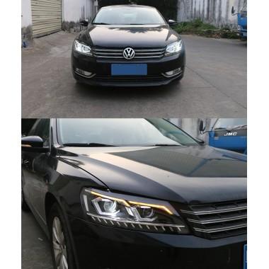 Передняя LED оптика для Volkswagen Passat 2011-2015 USA