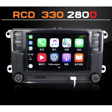 Штатная магнитола RCD 330 Plus Desay 280D для Фольксваген Polo, Jetta, Passat, Tiguan