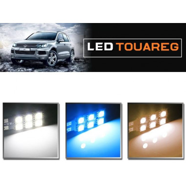 LED лампы освещения салона для Фольксваген Туарег 2011-2015