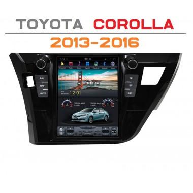 Андроид магнитола в стиле Тесла для Toyota Corolla 2013-2016