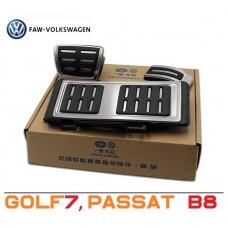Штатные накладки на педали для Фольксваген Пассат Б8, Гольф7