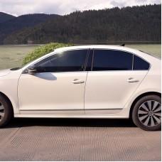Хром пакет на окна для Volkswagen Jetta 6