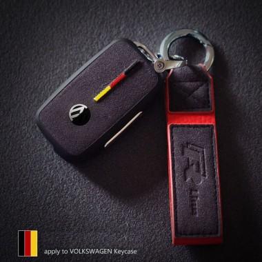 Качественный чехол кожа+алькантара для Volkswagen Polo, Golf, Jetta, Tiguan