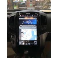 Андройд магнитола в стиле Тесла для Toyota Land Cruiser 200 2008-2015