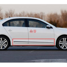 Хром молдинги дверей для Volkswagen Jetta 6