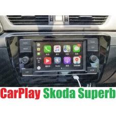 Штатная магнитола RCD 330 plus с CarPlay для Skoda Superb