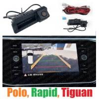 MIB камера в ручку двери с динамическими линиями для Volkswagen Polo, Jetta, Tiguan, Passat, Rapid