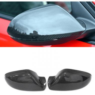 Карбоновые крышки зеркал Audi