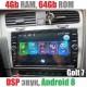 Андроид магнитола с 2,5D экраном для Volkswagen Golf 7