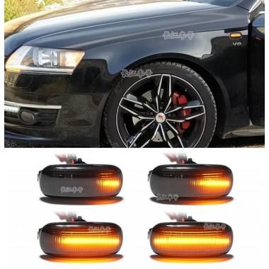 Динамические LED поворотники в крылья для Audi A3, A4, A6 (C5, C6), A8, TT