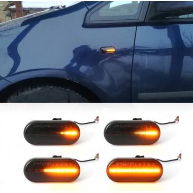 Динамические LED поворотники в крылья для Volkswagen Golf 4, Bora, Polo, Passat B5