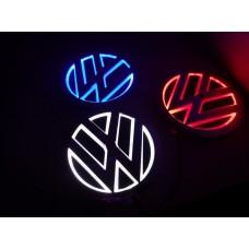 Эмблема с LED подсветкой для Volkswagen Golf 6, Passat, Tiguan