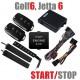 Комплект дистанционного запуска с телефона + старт-стоп для Volkswagen Golf6, Jetta