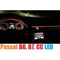 Атмосферная LED подсветка для Volkswagen Passat B6, B7, CC