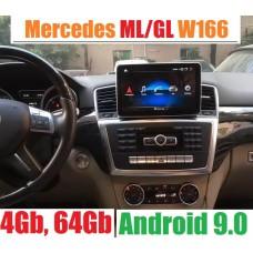 Топовая Андроид магнитола для Mercedes Benz ML, GL W166 (2012-2015)