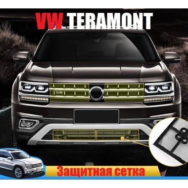 Защитные сетки решетки радиатора и бампера для Volkswagen Teramont