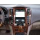 Андроид магнитола в стиле Тесла для Lexus RX 2004-2007