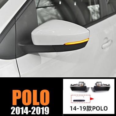 Динамические LED поворотники в зеркала для Polo