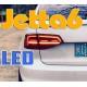 Задняя LED оптика с динамическими поворотниками для Джетта 6