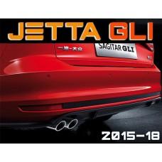 Задний диффузор GLI для Фольксваген Jetta 2015-2017