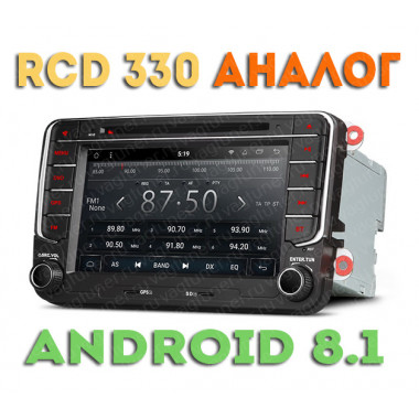 Андроид магнитола в стиле RCD 330