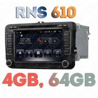 Штатная Андроид магнитола RNS 610 для Фольксваген Поло, Гольф, Джетта, Пассат, Тигуан