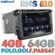 Штатная Андроид магнитола RNS 810 для Фольксваген Поло, Гольф, Пассат, Тигуан