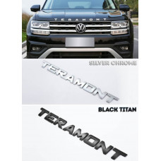 Буквы Teramont для установки на капот Фольксваген Терамонт