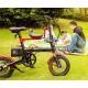 Детское велокресло для складного велосипеда