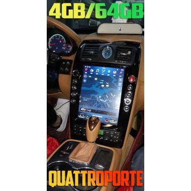 Андроид магнитола в стиле Тесла для Maserati Quattroporte