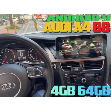Андроид магнитола для Ауди A4 B8 с экраном 10,25 дюйма