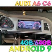 Штатная Андроид магнитола для Ауди A6 C6