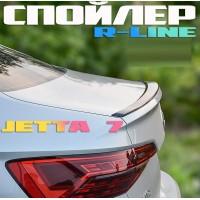 Липспойлер R-line для Фольксваген Джетта 7