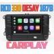 Штатная магнитола RCD 330 Plus с CarPlay для Фольксваген