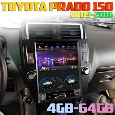 Aндроид магнитола Тесла для Toyota Prado 150 (2009-2017)