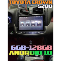 Топовая Андроид магнитола для Toyota Crown S200
