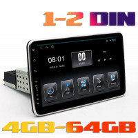 Универсальная Андроид магнитола на 1din, 2din