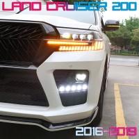 Передняя матричная LED оптика для Toyota Land Cruiser 200