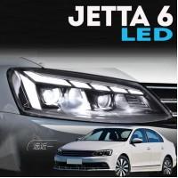 Передняя LED оптика для Фольксваген Джетта 6